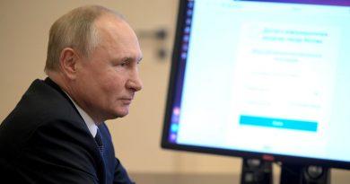Путин: Остановить развитие современных средств для голосования невозможно